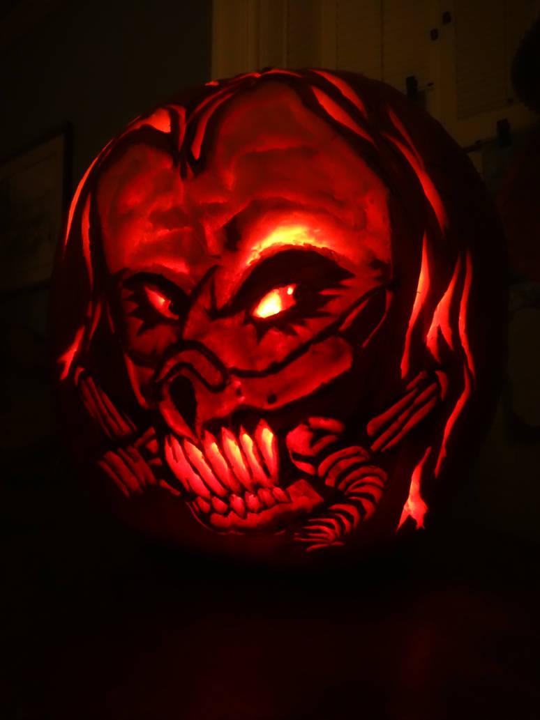 Immortan Joe Pumpkin Carving