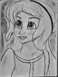 Eilonwy Sketch
