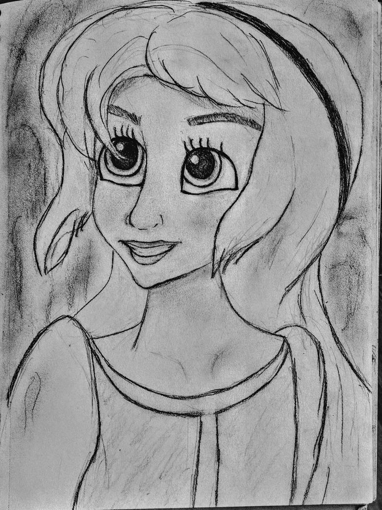 Eilonwy Sketch by Confidenceman047
