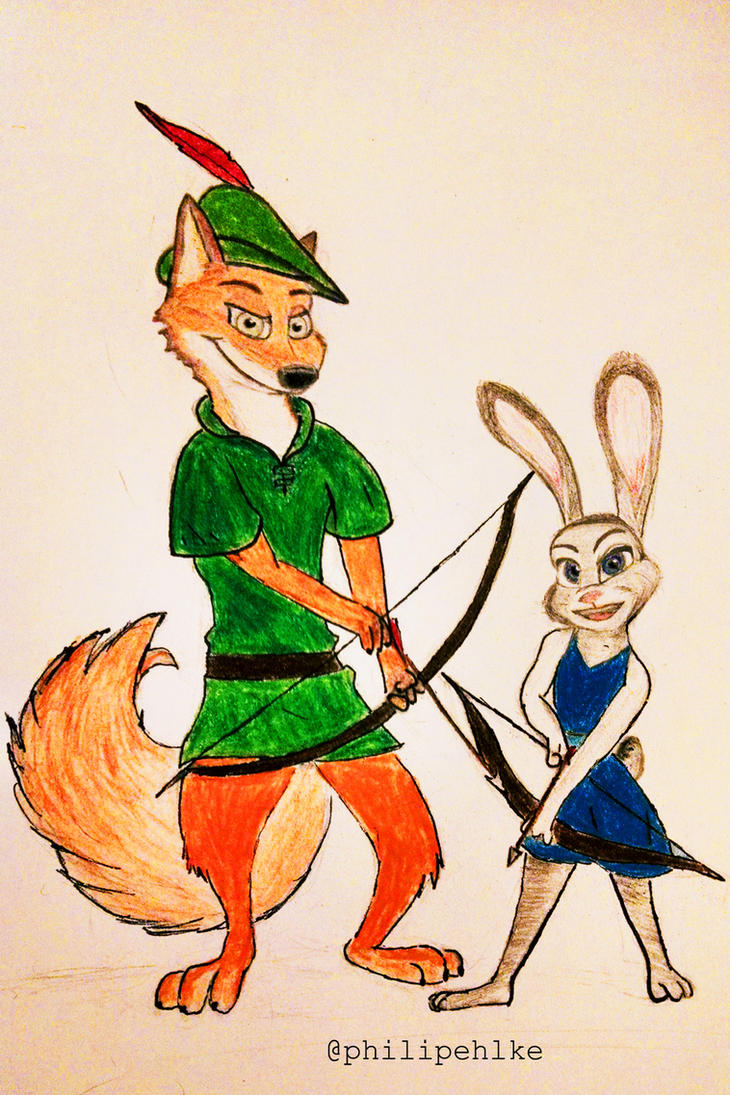 Zootopia's Nick and Judy by Confidenceman047
