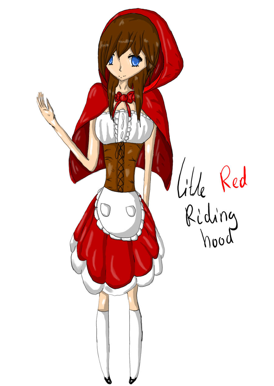Little red riding hood by atrrox on deviantart - Hood cartoon wallpaper ...
