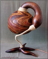 Table lamp V by day 1 by Calabarte