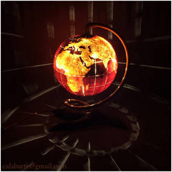 Table lamp VII - Globe by Calabarte