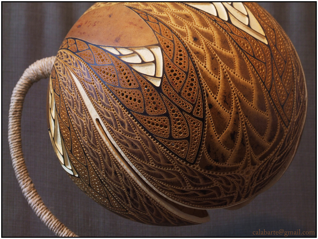 Gourd Lights Table Lamp X Fractal By Calabarte On Deviantart