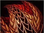 Table lamp IX - Spiral Harmony
