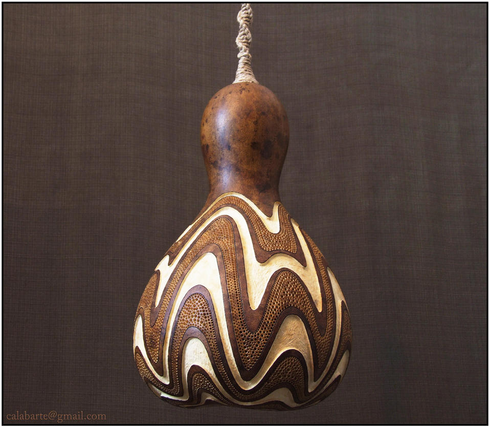 hanging gourd lamp iv day 1 by calabarte on deviantart