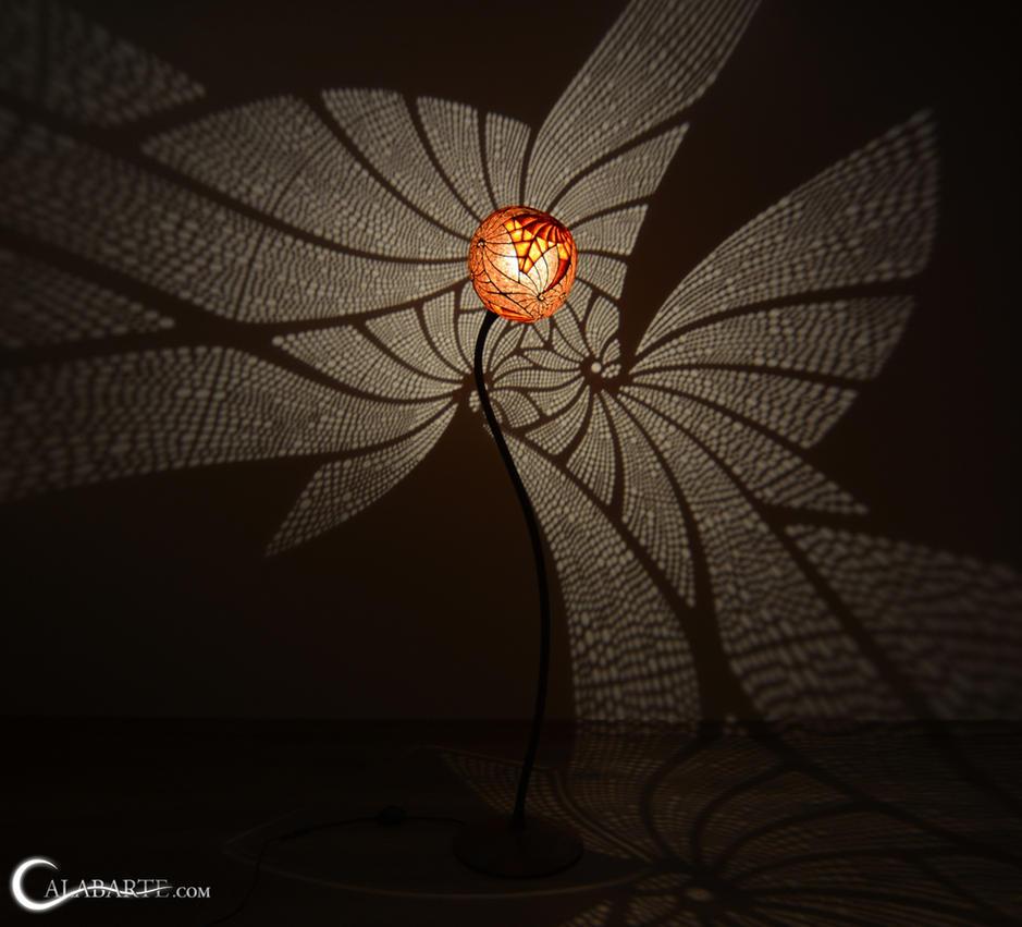 Floor lamp III Ammonitis by Calabarte
