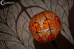 Floor lamp IV Nepenthis by Calabarte