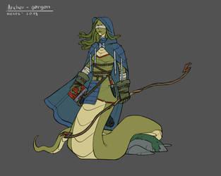 Archer - gorgon by nexis-610