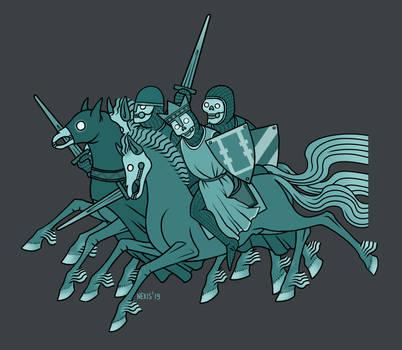 Medieval Wild Hunt by nexis-610