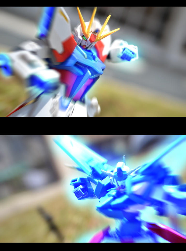 RG System vs FX Burst Mode by ConvoyKaiser