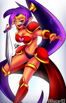 Battle Armor Shantae