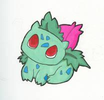 Ivysaur by NamuCiziru