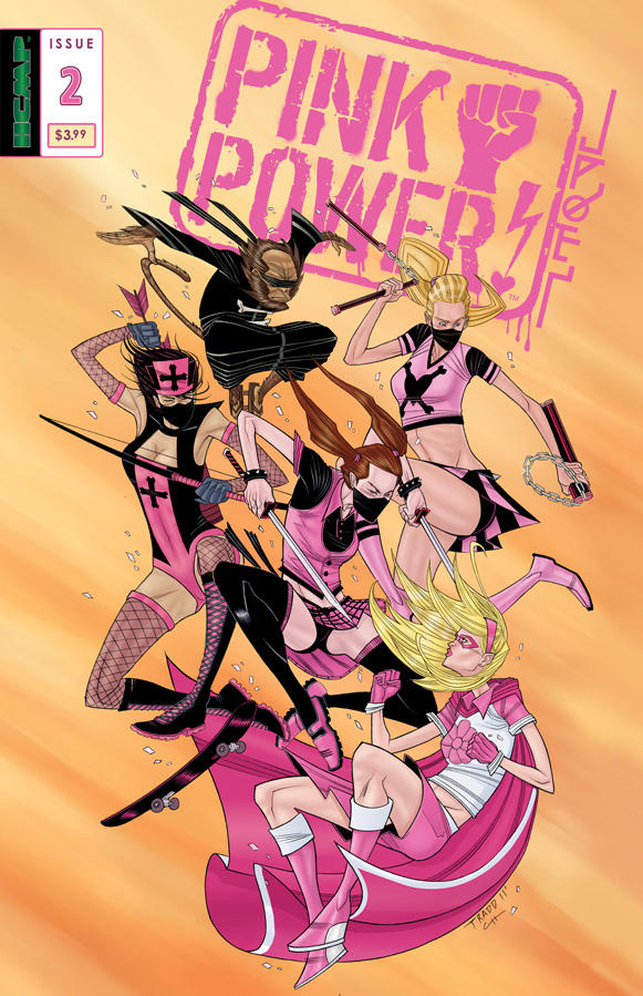 Pink Power 2 cover by Tradd Moore