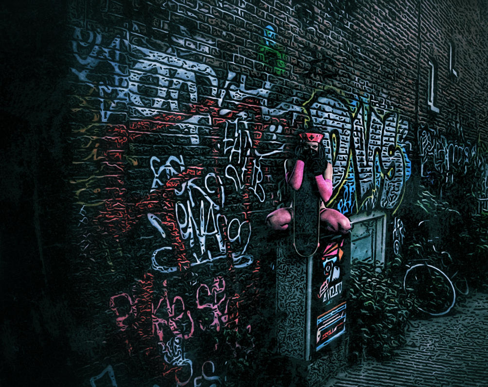 Katie Q Amsterdam Alley by HCMP