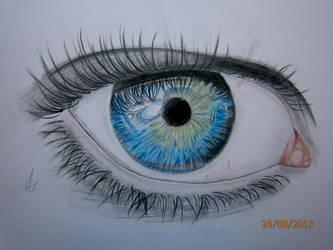 Eye by Annapapai