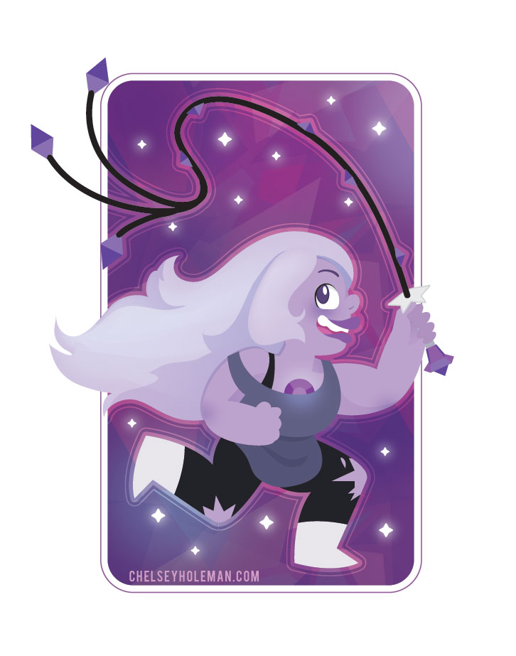 Amethyst by chelseyholeman