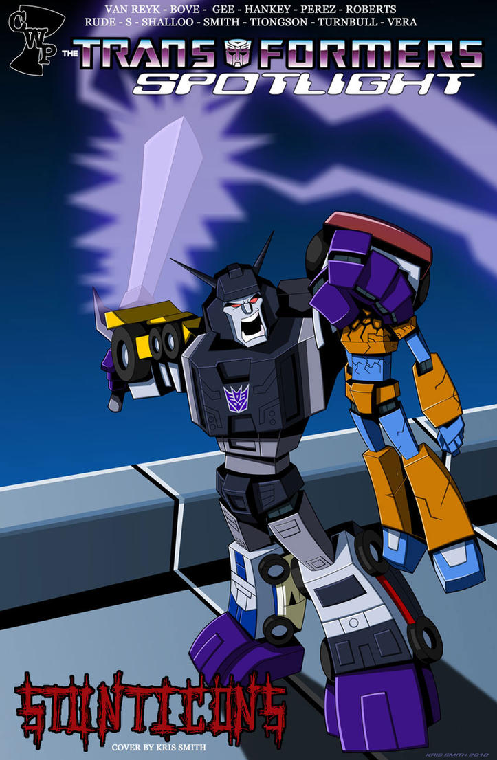 STUNTICONS COVER B by Spotlight-Stunticons