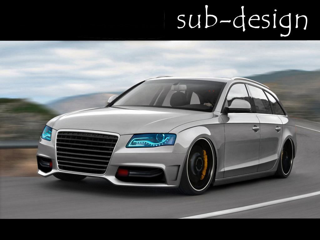 audi a4 avant 09 by sub design on deviantart. Black Bedroom Furniture Sets. Home Design Ideas
