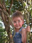 Boy in Tree 3