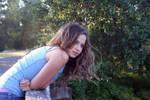 Girl On Bridge