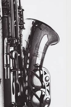 saxophone upright