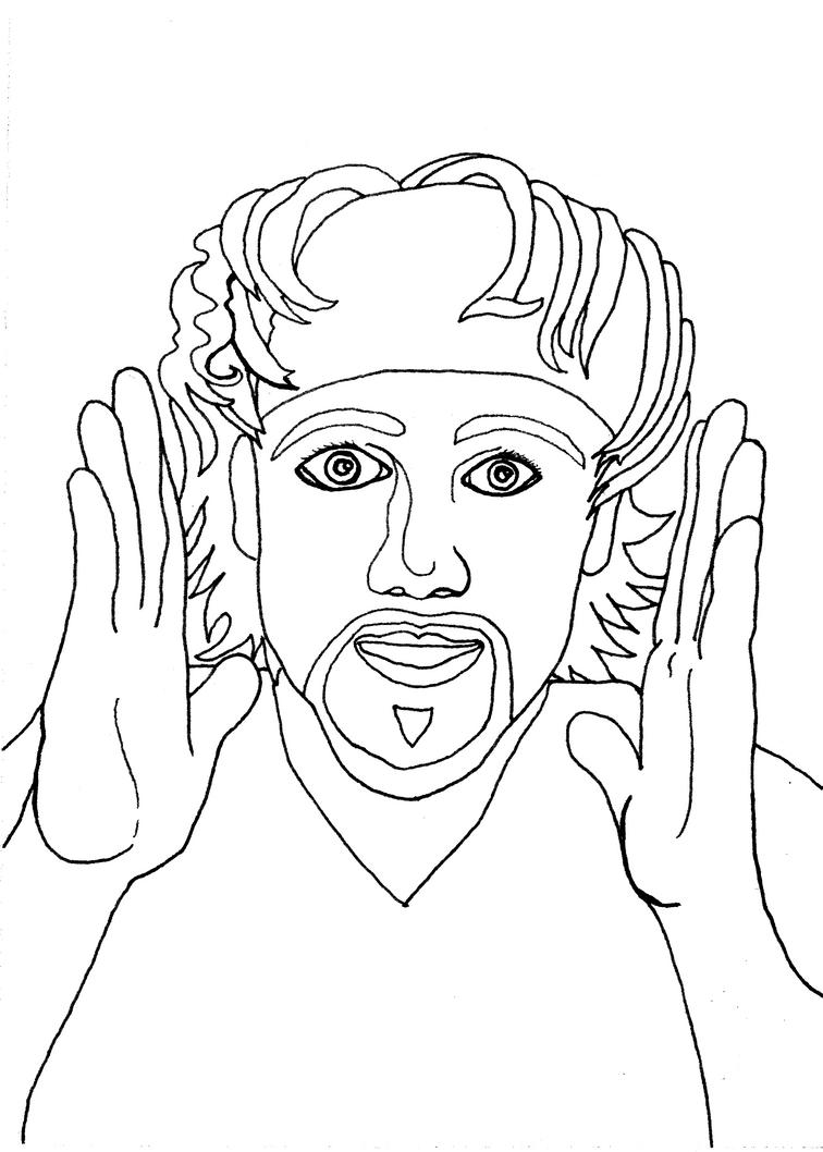Seth WIP:Inked by SpiralRaccoon