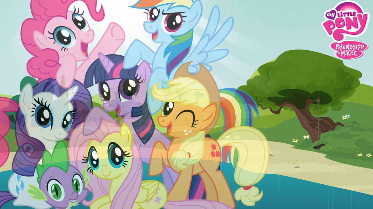 LightningRider Mane 6 PonyVille Remember Spike By LightningRiderXD On DeviantArt