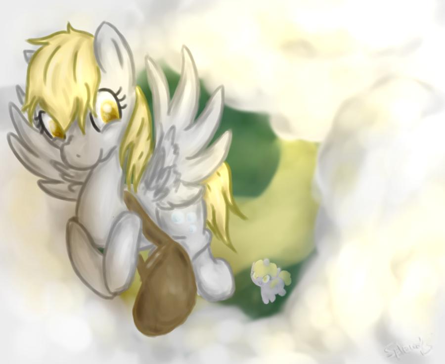 Postal pony by SplendNightray