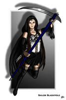 Commission - Sailor BlackHole by AerynDiana