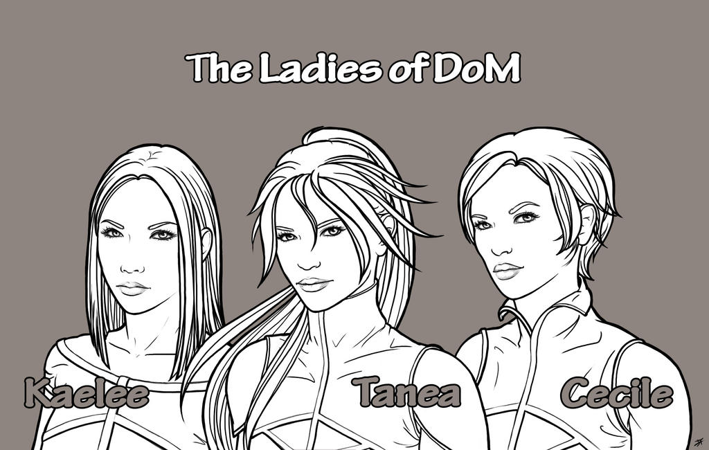 DoM Girls by DianaHold