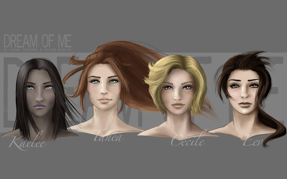 DoM - Ladies portraits