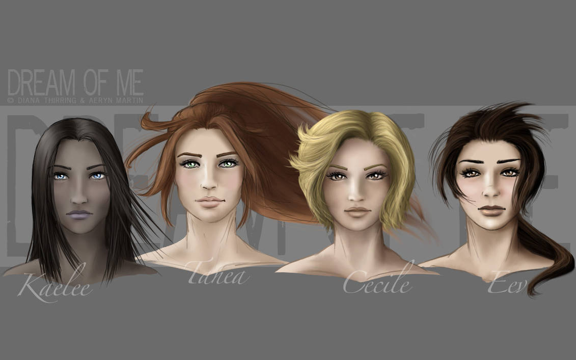 DoM - Ladies portraits