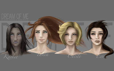 DoM - Ladies portraits by AerynDiana