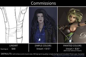 Commission Info