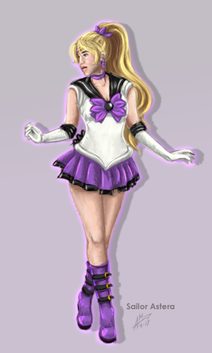 Ghya Senshi Sailor Astera by AerynDiana