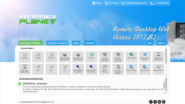 Rd Web Access Customization by ipinterface1 on DeviantArt