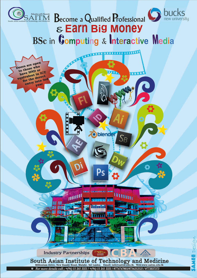 Poster design assignment - Poster Design For Assignment By Sameedsdp