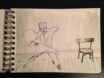 Tango-Sketch by mirceabotez