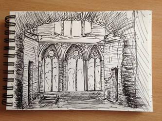 Building-Sketch by mirceabotez