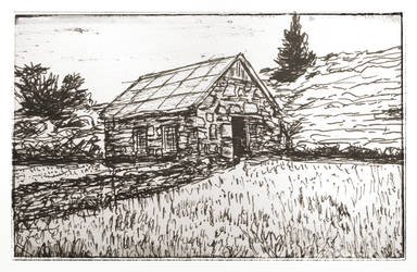 Old house - Sketch