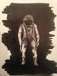 Astronaut - sepia version