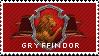 Gryffindor stamp by austheke