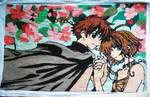 CrossStitch-Sakura and Syaoran