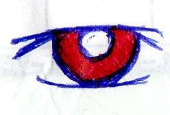 Red Eye by AmyLizMiller