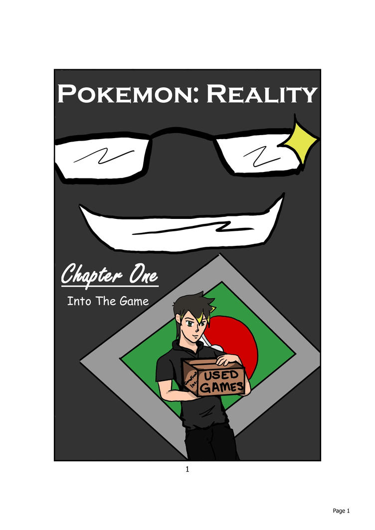 Pokemon Reality, Ch.1 Cover by AmyLizMiller