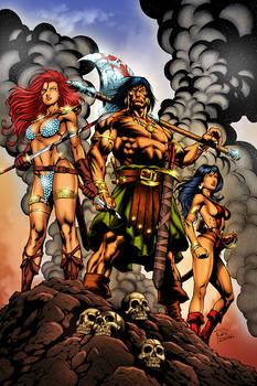 Conan, Sonja and Belit