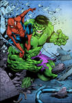 Hulk and Spider-Man (COLORS)