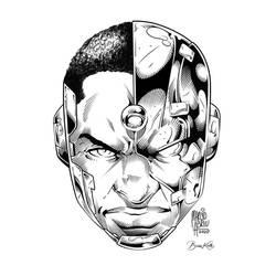 Cyborg (HEADSHOT INKS)