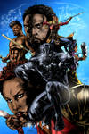 Black Panther Cover (COLORS)